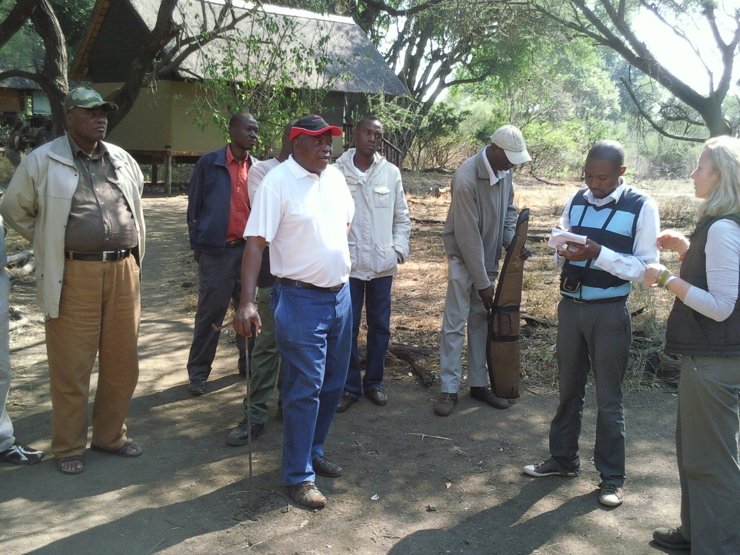 Exco Visit at Makuleke Eco-Training in 2011